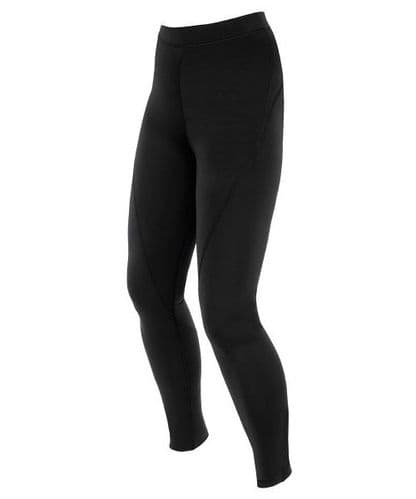 Black Stretch Technical Thermal Balance Legging