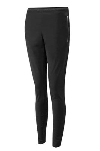 Black/White Unisex Slim Fit Sports Training Trousers