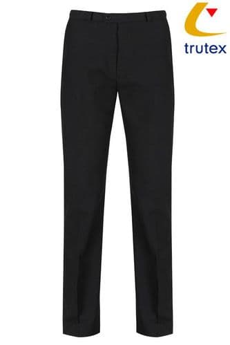 Boys Black School Trousers