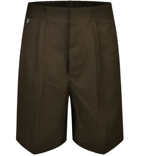 Boys Brown Short Trousers