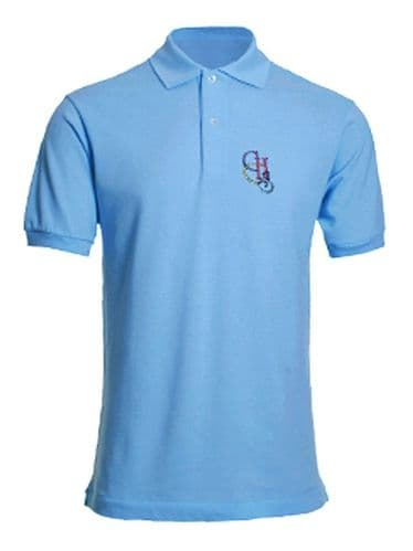 Clacton County High School Sky  Polo Shirt (Year  11 only)