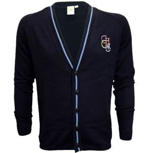 Clacton County High School Unisex THICK KNIT Cardigan
