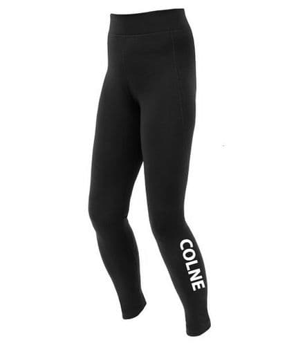 Colne Community Black Stretch Technical Thermal Balance Legging