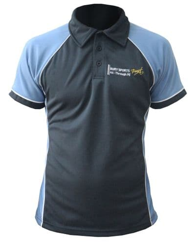 County Upper School Girls Fitted PE Polo Shirt