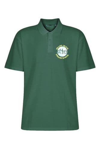 Friar's Grove Primary Bottle Green Polo Shirt