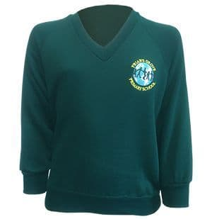 Friar's Grove Primary V-Neck Sweatshirt
