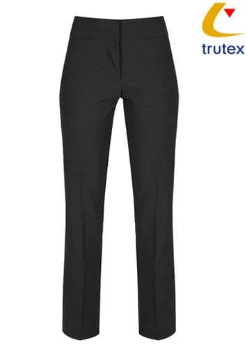 Girls Black Slim Leg Trouser