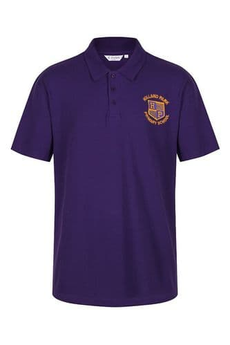 Holland Park Primary School Purple Polo Shirt