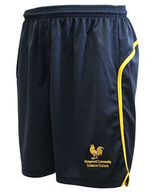 Honywood School Unisex Sports Shorts