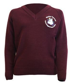 Mistley Norman Primary School Knitted V-Neck Pullover