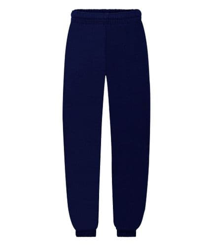 Navy School Jogging Bottoms