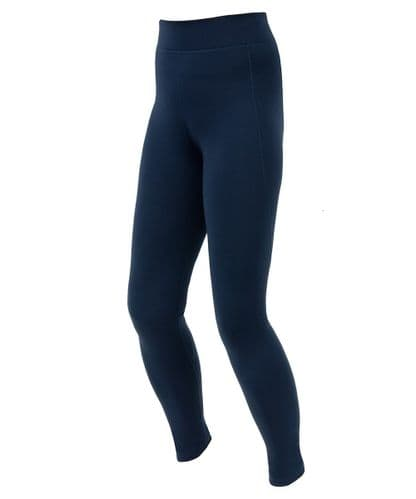 Navy Stretch Technical Thermal Balance Legging