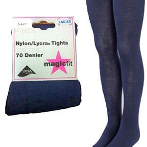 Navy Twin Pack School Tights
