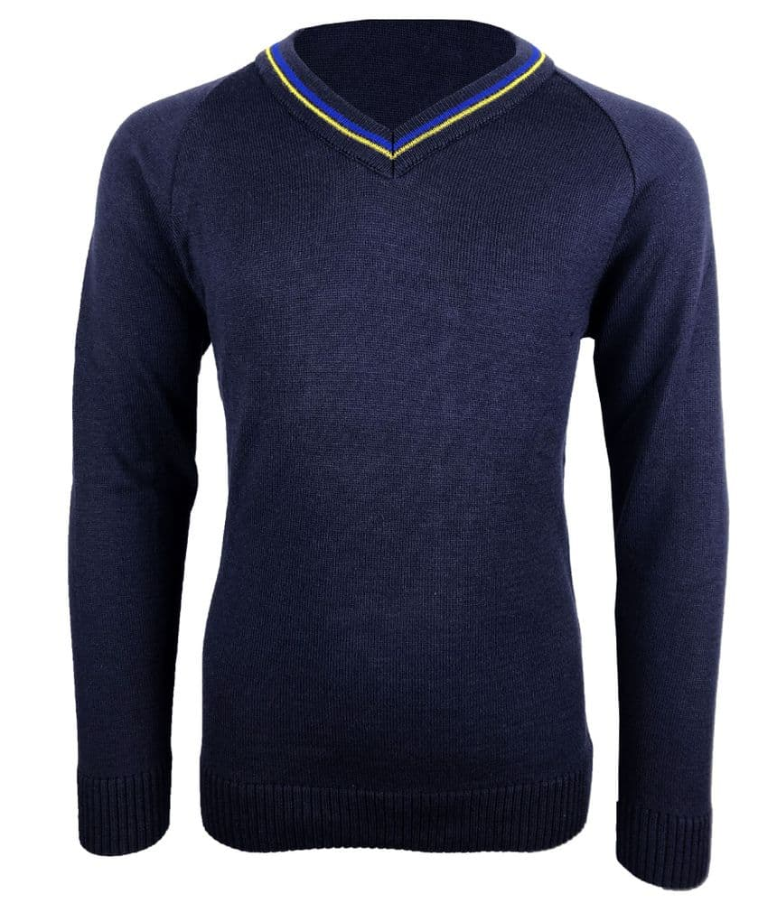 The Stanway School V-Neck Pullover