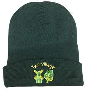 Two Village Primary Knitted Hat