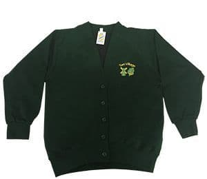 Two Village Primary Sweatshirt Cardigan