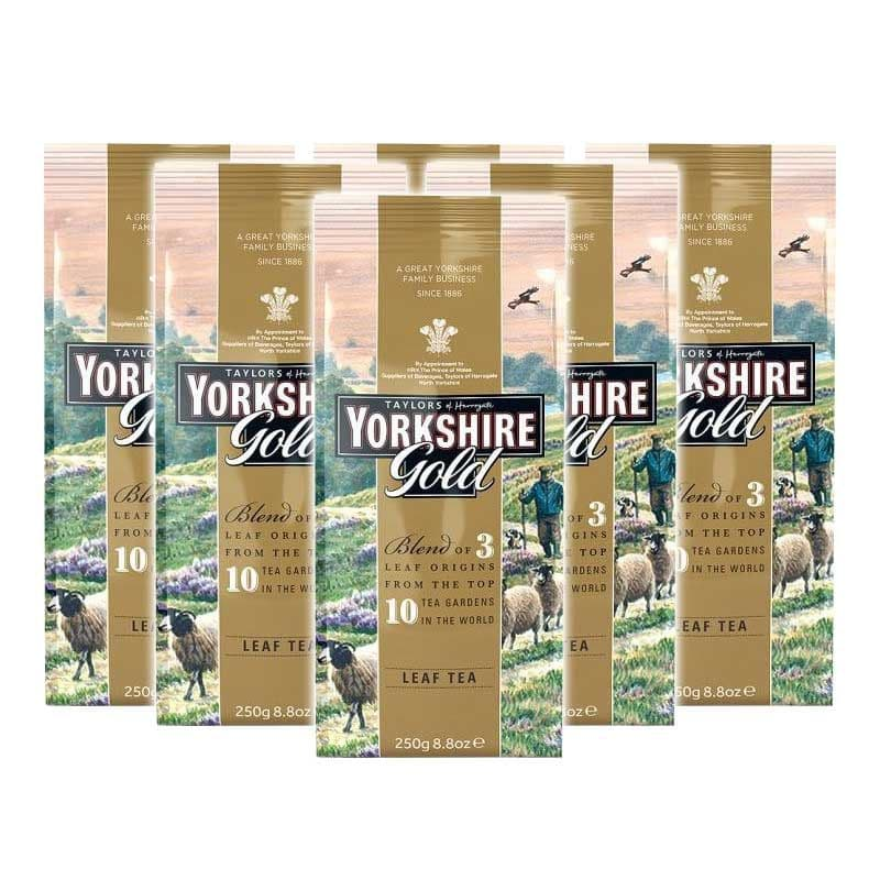 Yorkshire Gold Tea Loose Leaf Tea 250g Case 6 x 250g