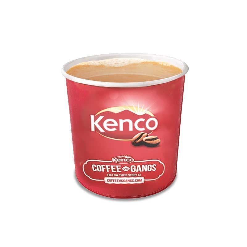 Kenco In-Cup Decaffeinated White