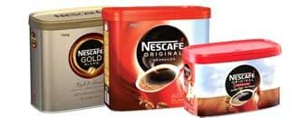 Nescafe Instant Coffee Tins