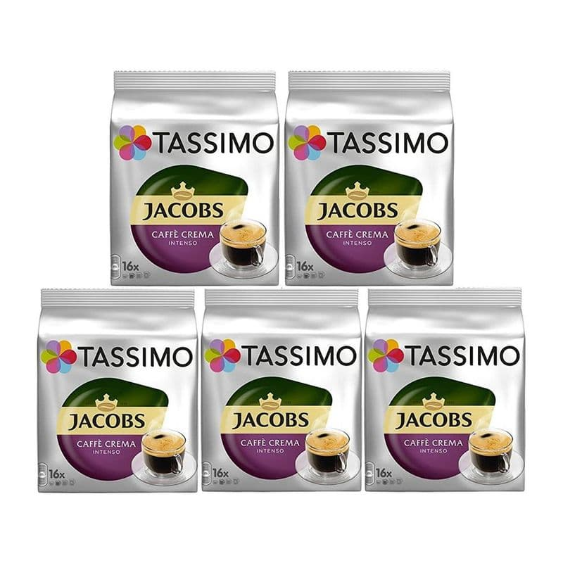 Tassimo T Discs Jacobs Caffe Crema Intenso Case
