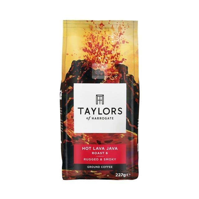 Taylors of Harrogate Hot Lava Java Ground Coffee 227g