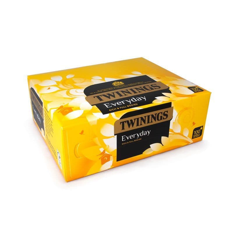 Twinings Everyday 100 String & Tag Tea Bags | Twinings | Coffee Supplies Direct