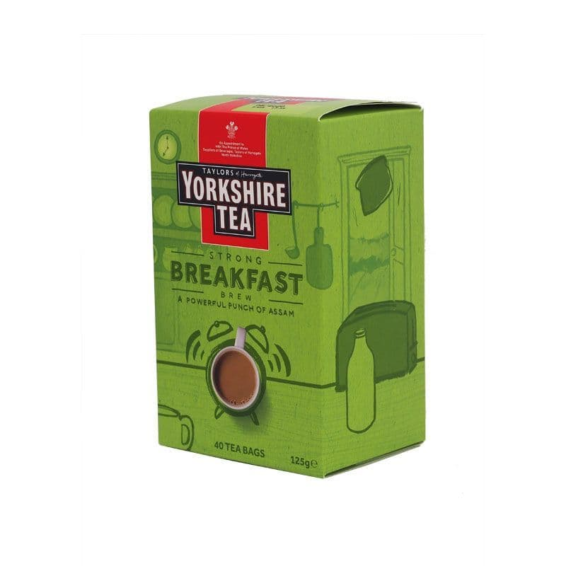 Yorkshire Tea Breakfast Brew Tea Bags 1 x 40