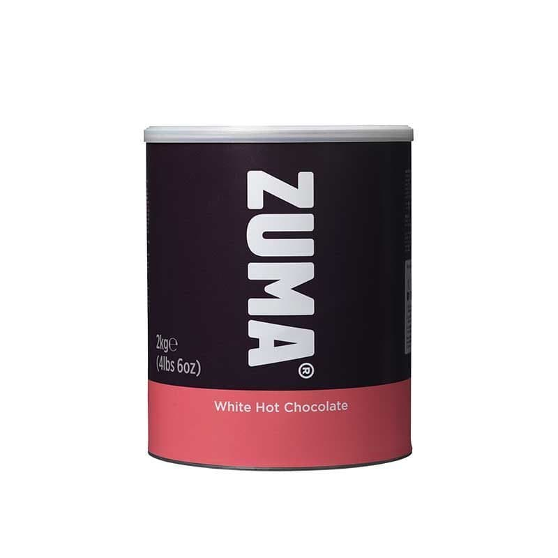 Zuma White Hot Chocolate 2kg Tin | Zuma