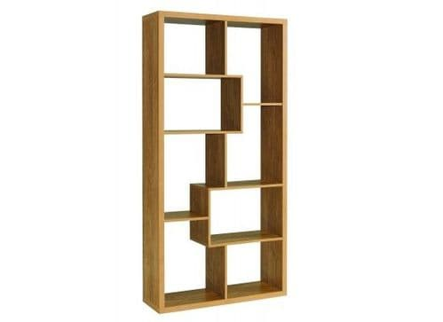 Douarnenez Light Oak Finish Bookcase Shelving Unit 17LD500