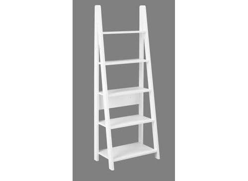 Langeais White Ladder Bookcase 17LD504
