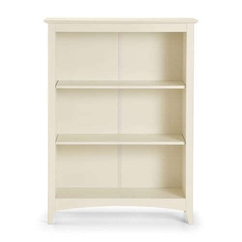 Mérida Stone White 2 Shelf Bookcase JB119