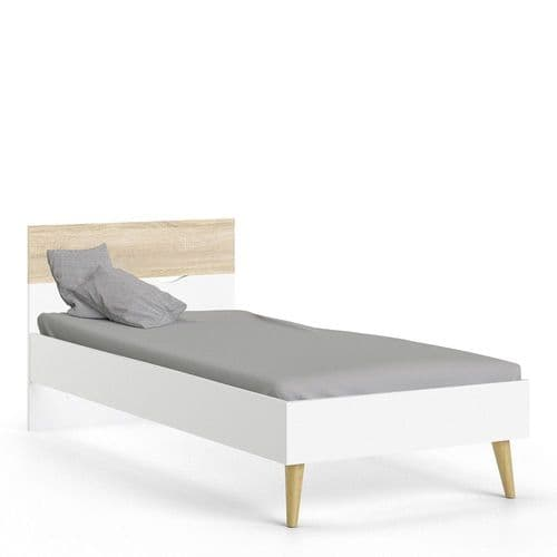 Anslo White & Oak Small Oslo Bed FG7047580149AK