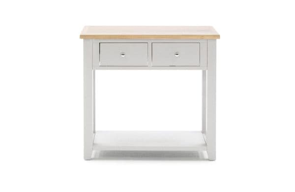 Aquino Two Tone Grey And Oak Console Table 218VD432