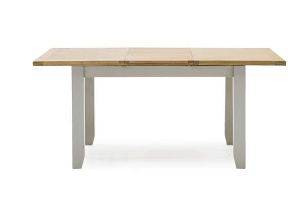 Aquino Two Tone Grey And Oak Large Extending Dining Table 218VD425