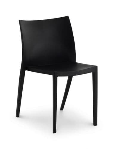 Assisi Black Stylish Stacking Chair JB213