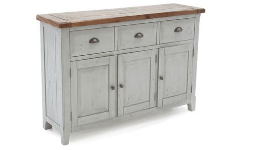 Atri Oak And Grey Pine Wood Large Sideboard 18VD4