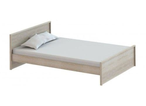 Avignon Modern Oak Finish Double Bed 17LD76