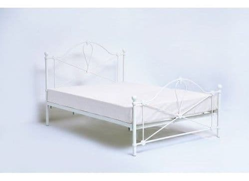 Avranches Classic White Double Bed 17LD219