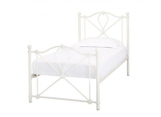 Avranches Classic White Single Bed 17LD218