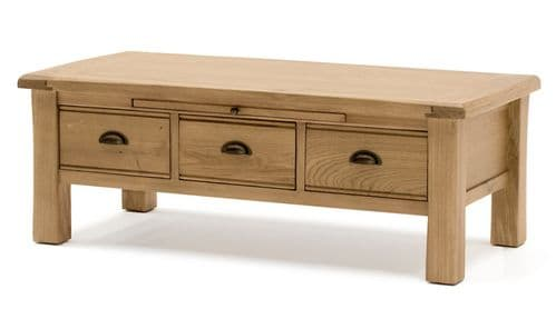 Benevento Natural Oak Veneer Coffee Table 18VD151