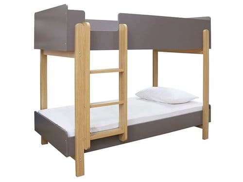 Benouville Grey And Oak Bunk Bed 19LD310