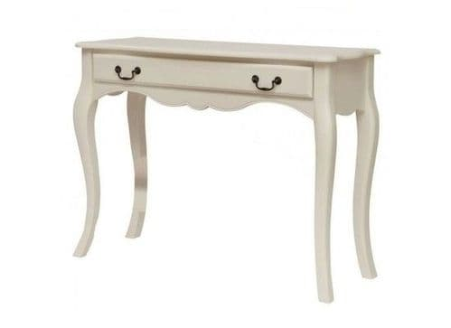 Besancon Antique White Finished Dressing Table 17LD47
