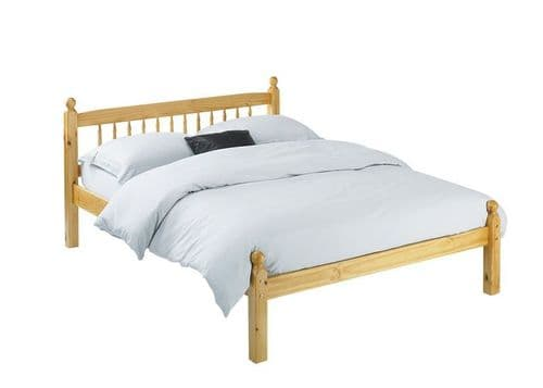 Blois Pine Timber Small Double Bed 19LD242