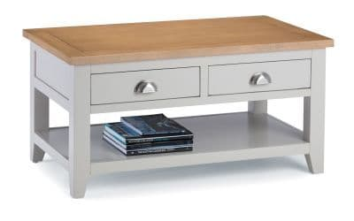 Bordighera 2-Tone Grey And Oak Coffee Table 18JB442