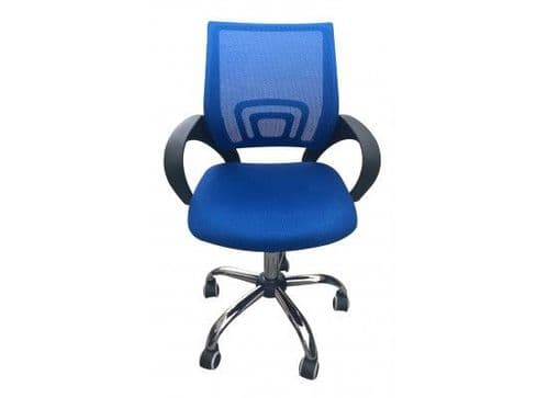 Brieuc Blue Mesh Fabric Office Chair 17LD535