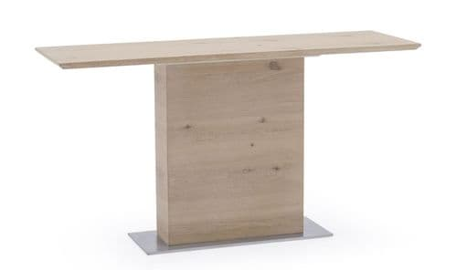 Capua White Washed Oak Console Table 18VD178