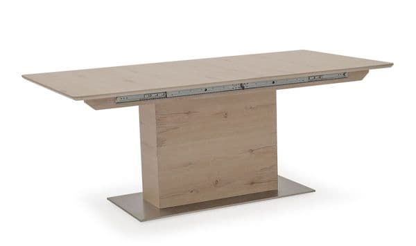 Capua White Washed Oak Extending Dining Table 18VD174