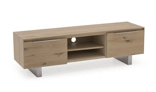Capua White Washed Oak TV Unit 18VD179