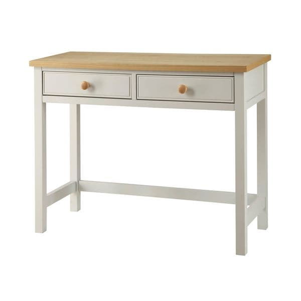 Chartres Dove Grey 2 Drawer Dressing Table 17LD107