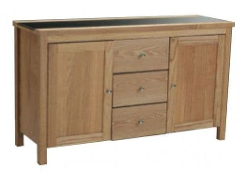 Chenonceaux Oak Finish Sideboard 17LD310